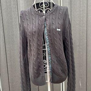Le Tigre Cable Knit Cardigan